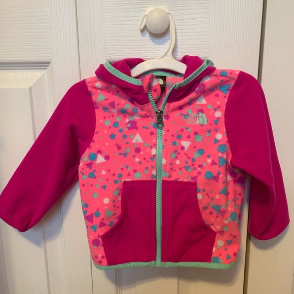 20bc6f8d0 Toddler girl North Face fleece jacket